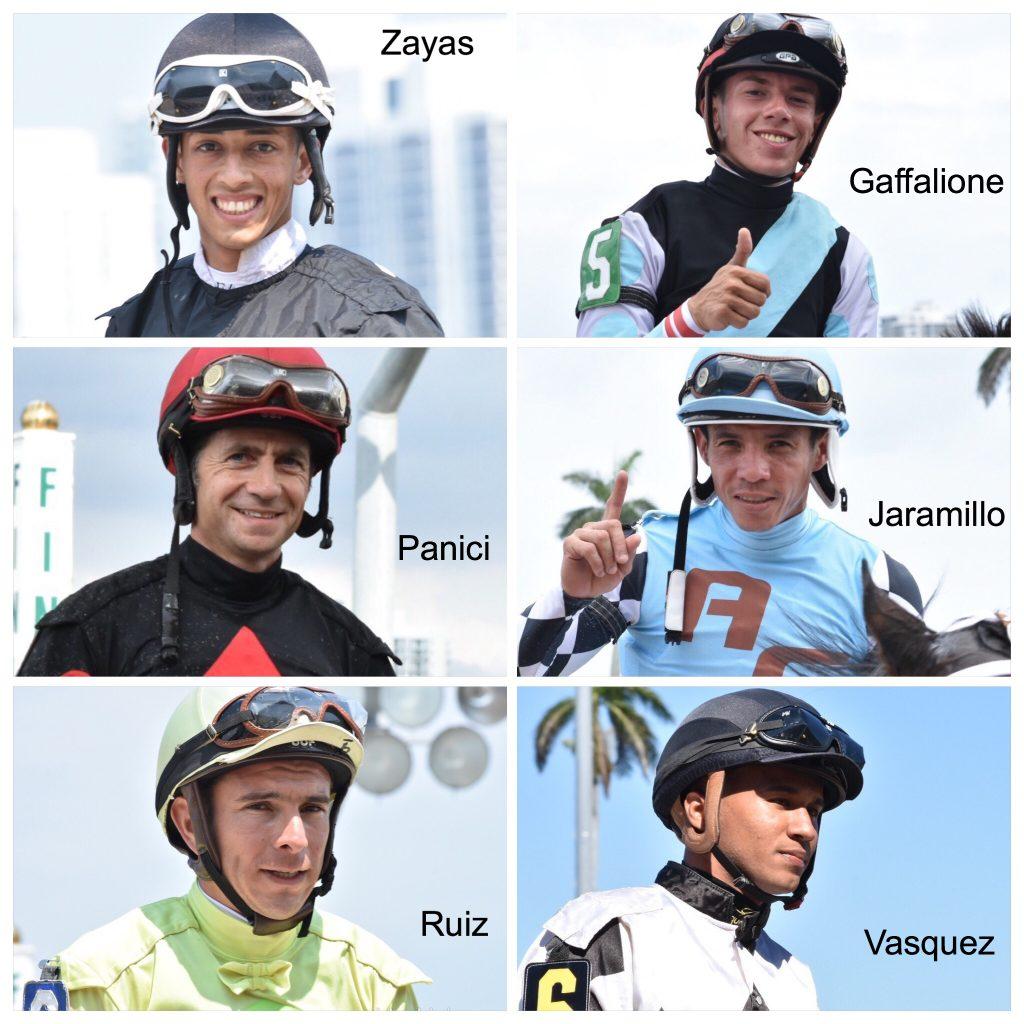 Gulfstreampark Springmeet Top Jockeys Jinetes L 237 Deres